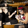Liza meets Frank N Furter in EastEnd Cabaret's Sexual Tension