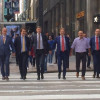 Dutch politicians hold hands in public to combat homophobia