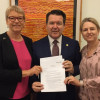 Dean Smith's marriage bill introduced to the Senate