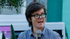 Hannah Gadsby Speaks at Equal Love Rally