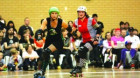 Bad Ass Skate Splattering Roller Derby