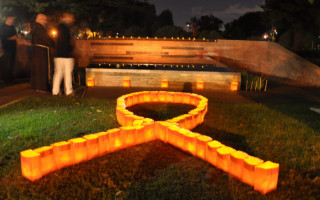 AIDS international candlelight memorial to light up on Sunday 19th May
