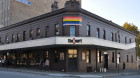 Calls for The Court Hotel to remove rainbow signage