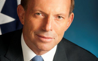Tony Abbott wins Golden GLORIA
