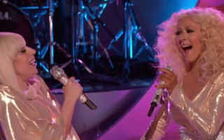 Lady Gaga and Christina Aguilera Team Up