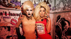 Sharon Needles and Alaska Thunderf*ck Split