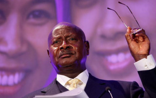 Ugandan President met With Protest in London