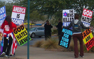 Westboro Baptist Church says their ban from UK caused Westminster attack