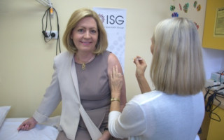 Lord Mayor of Perth Champions Flu Vaccination Program