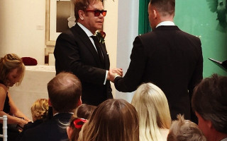 Sir Elton John Weds David Furnish