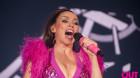 Dannii Minogue has been back in the studio