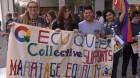 Activists Gather for Marriage Equality