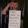 Sam Smith Gives Silent Acceptance Speech at Billboard Awards