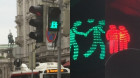 Munich introduce same-sex crosswalk couples