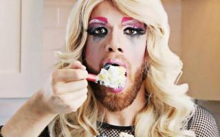 Bearded Drag Performer Impresses America's Got Talent