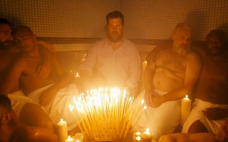 Singer John Grant films NSFW video in gay sauna
