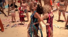 Drag queens lead Minogue flash mob on Bondi Beach