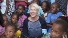 P!nk takes on new role for UNICEF