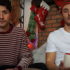 Matt Dallas and Blue Hamilton introduce their son