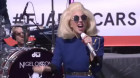Elton John and Lady Gaga's surprise street performance