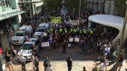 Competing protests at Save Safe Schools rally
