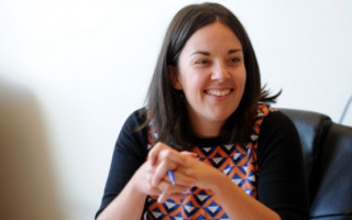 Scottish Labour leader Kezia Dugdale casually comes out