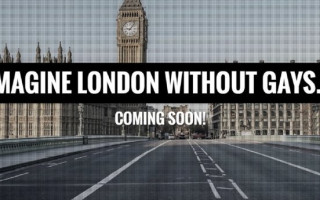 'Imagine London Without Gays': Ominous billboard appears in UK