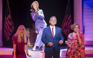 Review: Revisit Hillary's first presidency with Clinton: The Musical