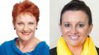 Lambie and Hanson want a super-plebiscite