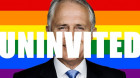 Is it right to un-invite Malcolm Turnbull from Mardi Gras?