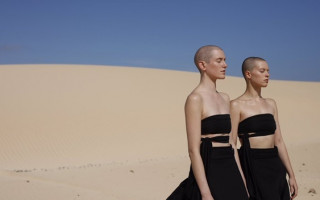 Goldfrapp bring high fashion to the desert in new clip; Anymore