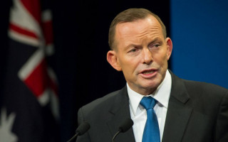 Tasmanian police charge man over alleged assault of Tony Abbott