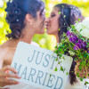 Almost 400 Australian same sex couples wed in the last month