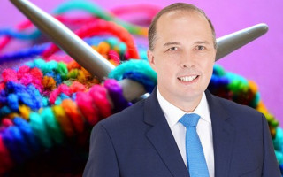 Peter Dutton takes aim at QANTAS CEO Alan Joyce over marriage equality