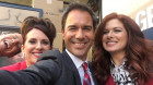Cast of Will & Grace share photo as new season begins filming