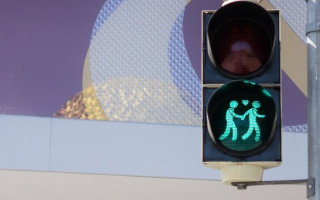 Madrid is getting some 'same-sex' crossing lights for World Pride