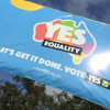Get out the vote! WA rallies for YES vote in Wellington Square