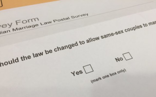 Can you ask for a new marriage survey form if you've changed your mind?