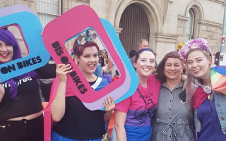 Northbridge was at its most fabulous for Saturday's Pride Parade