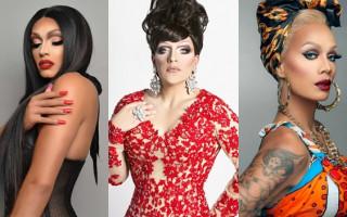 Raja, Tatianna and Mrs Kasha Davis bring Big Gay Sunday to The Court
