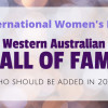 Who should be added to the International Women's Day 'Hall of Fame'?
