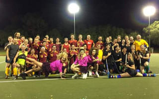 New video reveals the fun of the Pride Cup hockey match
