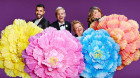 Magda, Joel , Urzila and Patrick will host the Mardi Gras broadcast