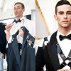 Adam Rippon slays on the Oscar's red carpet