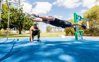 Calisthenics with Cred: Work out anywhere, anytime!