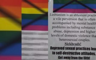 Shocking homophobic note left for Brisbane couple