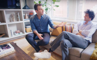 Take a tour around Zachary Quinto and Miles McMillan's NYC loft