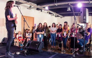Girls Rock! Music camps for young female and gender diverse artists
