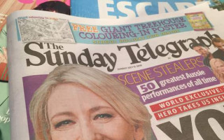 Sunday Telegraph slammed for using transphobic slur in headline