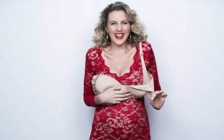 Amelia Ryan presents a rollicking romp of impending motherhood